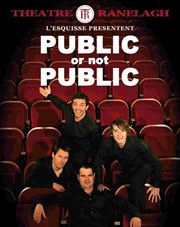 Public or not Public Th��tre le Ranelagh Affiche