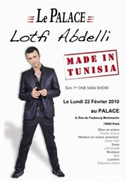 Lotfi Abdelli dans Made in Tunisia Le Palace Affiche