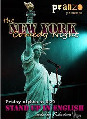 The New York Comedy Night Le Pranzo Affiche