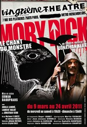 Moby Dick ou le Chant du Monstre Vingti�me Th��tre Affiche