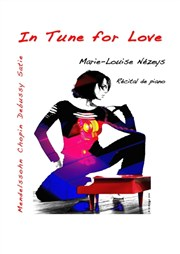 In tune for love- récital de piano scénarisé Com�die Nation Affiche