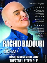 Rachid Badouri dans Arr&#234;te ton cin&#233;ma ! Thtre Le Temple