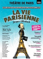 La Vie Parisienne Th��tre de Paris Affiche