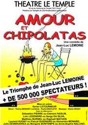 Amour et Chipolatas Th��tre Le Temple Affiche