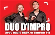 Duo D'impro Th��tre Pierre Tabard Affiche