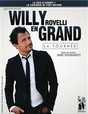 Willy Rovelli dans Willy En grand Jazz Com�die Club Affiche