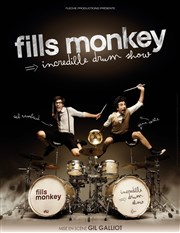 Fills monkey | Incredible drum show La Cigale Affiche