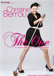 Christine Berrou dans The One Th��tre Le Temple Affiche