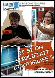 Et si on simplifiait Laurette Th��tre Affiche