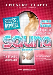 Sauna, le musical Th��tre Clavel Affiche