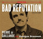 Bad Reputation - Pierre de Gaillande chante Brassens... in english ! Le chat gourmand Affiche