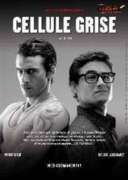 Cellule grise Th��tre Pixel Affiche