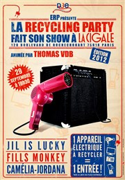 La recycling party fait son show a la cigale La Cigale Affiche
