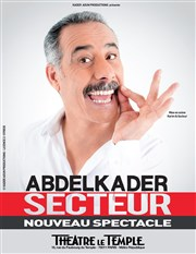 Abdelkader Secteur Th��tre Le Temple Affiche