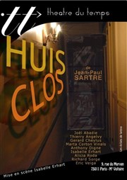 Huis Clos Th��tre du Temps Affiche