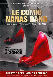Le Comic Nanas band Th��tre Popul'air du Reinitas Affiche