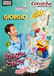 Giorgio Magic Show Com�die Bastille Affiche