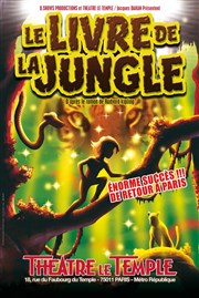 Le livre de la jungle Th��tre Le Temple Affiche