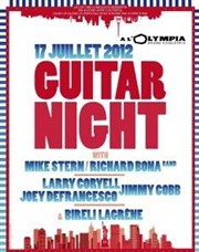 A guitar night L'Olympia
