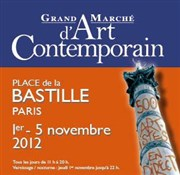 Grand Marché d'Art Contemporain, 39ème édition Place de la Bastille Affiche
