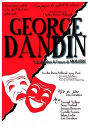 George Dandin Th��tre Darius Milhaud Affiche