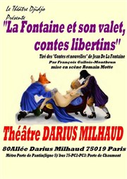 La Fontaine et son valet, contes libertins Th��tre Darius Milhaud