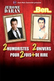 Ben et Jérome Daran Le Point Virgule Affiche
