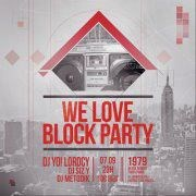 We Love Block Party #2 Le 1979 Affiche