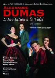 L'invitation à la valse Th��tre du Bourg-Neuf Affiche