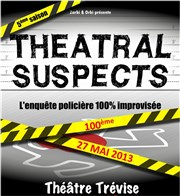 Théatral Suspects Th��tre Tr�vise Affiche