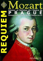 Requiem de Mozart Eglise Saint Th�r�se  Affiche