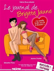 Le journal de Brigitte jaune Le Th��tre de Jeanne Affiche