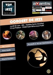 Vdv Jazz Project Th��tre Silvia Monfort Affiche