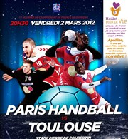 Handball : Paris vs Toulouse Gymnase Pierre de Coubertin Affiche