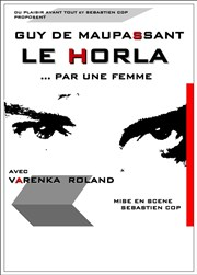 Le Horla Th��tre Essaion Affiche