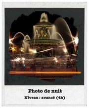 Atelier photo de nuit M�tro Palais-Royal